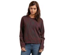 Splat Dat Sweater burgundy