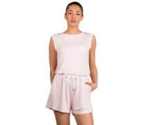 Short Sweat Overall chalk pink