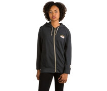 Neverwhere Zip Hoodie true black