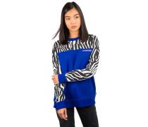 Zebra Boyfriend Crew Sweater surf the web