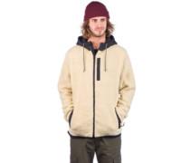 Denny Sherpa Block Jacket white