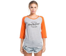 Phoenix 3/4 Raglan Dirt T-Shirt LS grey marl