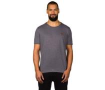 Italienischer Hengst V T-Shirt dark grey melange