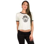 Knoxville Hamsa SS Ringer T-Shirt cream