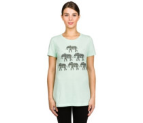 Elephant Pyramid T-Shirt mint