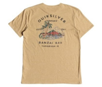 Banzai Bar T-Shirt LS taffy heather