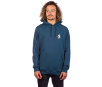 Deadly Stones Hoodie navy green