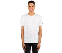 Short Sleeve All Over Print T-Shirt wht