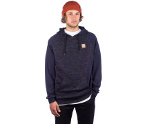 Injection Hoodie navy yellow