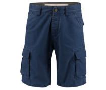 Complex Check Cargo Shorts blue aop