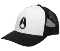 Iconed Trucker Cap white black