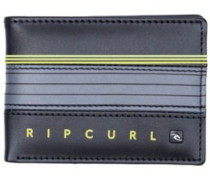 Hold Down Stripe Wallet lime