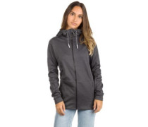 Zip Fleece Jacket black out