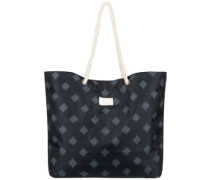Tropical Vibe Printed Bag anthracite pearly tiles
