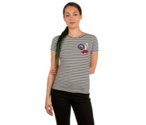 Taffy Crab Patches T-Shirt marshmallow classic strip