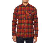Rowan Stretch Flannel Shirt LS bordeaux