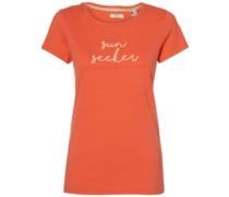 Script T-Shirt hot coral