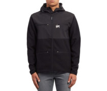 Doked Zip Jacket black