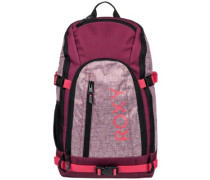Tribute Backpack beet red