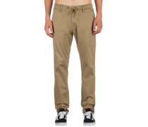 Reflex Easy Straight Pants dark sand
