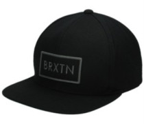 Rift Snapback Cap black