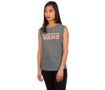 Muscle V Tank Top muted clay
