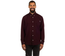Dalton Shirt LS black heavy rinse
