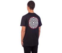 Checkered T-Shirt black