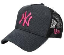 NY Yankees Jersey Trucker Cap beetroot p