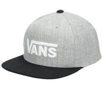 Drop V II Snapback Cap black