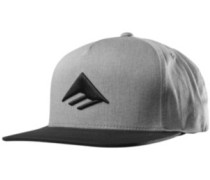 Triangle Snapback Cap black