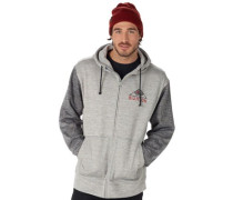 OAk Zip Hoodie monument heather