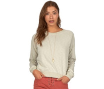 Essential Crew Sweater mineral green