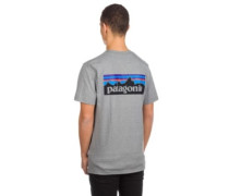 P-6 Logo Responsibili T-Shirt gravel heather