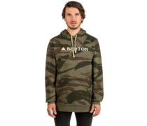 Mountain Logo Horizontal Hoodie brush camo