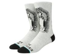 Pray For Enemies Socks grey