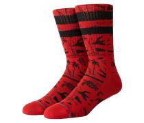 JJF Voyage Socks red