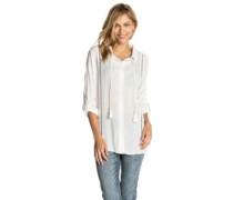 Lara Beach Shirt LS white