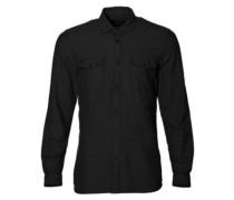 Freestone Shirt LS dark grey melee