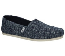 Alpargata Slippers Women navy washed denim