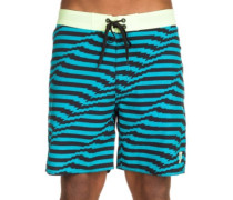 "Mirage Distort 18"" Boardshorts aqua"