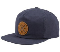 Beachside Snap Back Cap navy