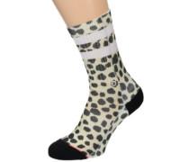 Feline Classic Crew Socks multi