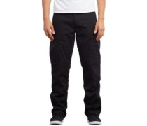 Strngr Reg Tap Cargo Pants black