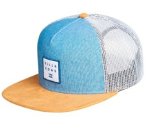 Stacked Trucker Cap blue