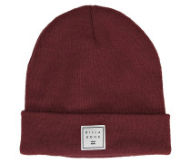 Stacked Beanie oxblood