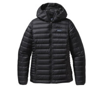Down Sweater Hooded Outdoor Jacket black