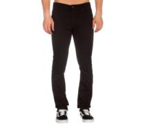 2X4 Jeans black on black