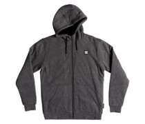 Sherpa Zip Hoodie charcoal heather