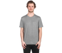Basic Pocket Crew T-Shirt grey heather